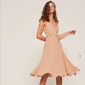 Temple Dress in Champagne